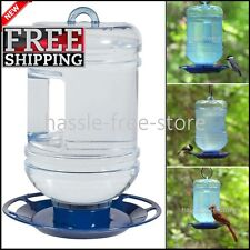 Bird Water Bottle Feeder Wild For Birds Variety Drink Hanging - NEW!