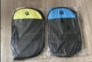 Pop Up Portable Pet Cage Playpen. Puppy, Kitten,  Etc UK Seller- Yellow Only