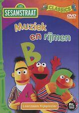 Sesamstraat : Muziek en Rijmen (DVD)
