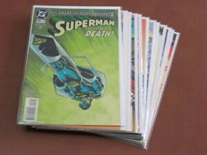 SUPERMAN #108-119 VFNM COMPLETE RUN WONDER WOMAN PLASTIC MAN LEGION SUPER-HEROES