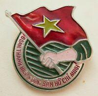 Vietnam  Pin badge  Propaganda