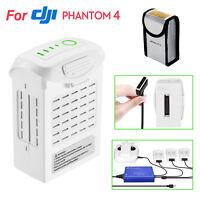 15.2V 5350mAh LiPo Battery & Charger For DJI Phantom 4 Pro/Pro Plus/Advanced US