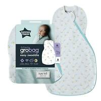 Tommee Tippee Grobag Newborn Easy Swaddle Baby Sleep Bag 0-3m 0.5 Tog Baby Stars
