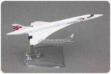 BRITISH AIRWAYS Concorde Passenger Airplane Plane Metal Aircraft Diecast Model
