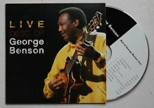 George Benson Live - Best Of Adv Cardcover CD 2005 Jazz