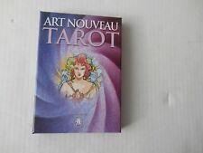 Art Nouveau Antonella Castelli Lo Scarabeo Tarot Oracle Kit Card Deck Book Set