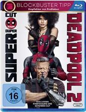 DEADPOOL 2 (Ryan Reynolds, Josh Brolin) Blu-ray Disc NEU+OVP