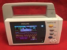Philips M3002A X2 A03 Masimo Wireless ECG SPO2 NIBP  Cert 1 Yr Warranty