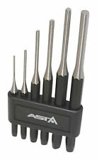 A-6PPS ASTA Parallel PIN PUNCH DRIFT SET LARGE ! CR-MO ! Metric Long 2 - 8 mm