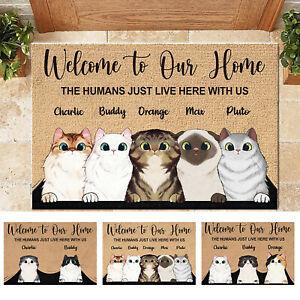 Welcome To My Home Personalized Doormat Premium Durable Door Mat Decoration