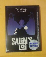 Salem's Lot DVD Snapcase Rare HTF & OOP Stephen King Novel Director Tobe Hooper
