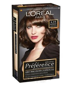 LOreal Paris Recital Preference Hair Dye France 60 ml L`Oreal Лореаль Mom Gift