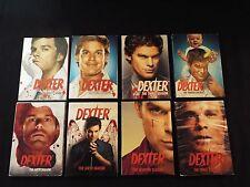 Dexter complete series 1-8 set seasons 1 2 3 4 5 6 7 8 lot authentic Region 1
