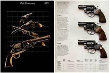 Colt 1977 Firearms Gun Catalog
