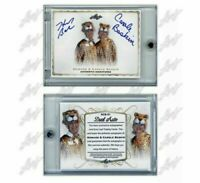 CAROLE & Howard BASKIN Tiger King Dual Auto AUTOGRAPH 2020 LEAF SSP /400