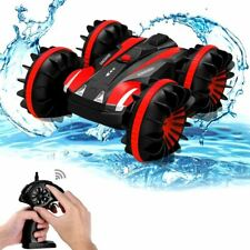 Amphibious RC Stunt Car 2.4Ghz 4WD Water & Land Remote Control Vehicle Toy Kids