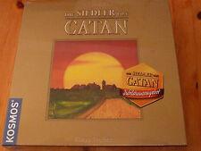 Die Siedler von Catan - Gold-Edition, Kosmos-Verlag, neu, OVP