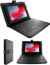 10.1'' Inch PU Leather Case Cover USB Keyboard Stand for Android Tablet PC