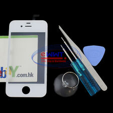 FREE SHIP for iPhone 4 4G Original White LCD Digitizer w/Frame Unit+Tool ZVLT204