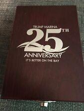 TRUMP MARINA Rosewood Box~ Wine gift set ~ 25th Anniversary