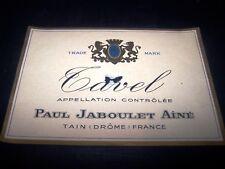 etiquette vin magnum Paul Jaboulet ainé TAVEL rhone wine label tain drome