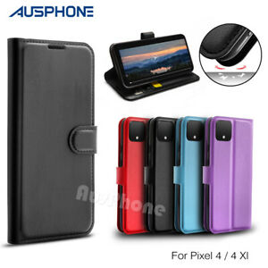 For Google Pixel 4 3 2 XL Case, Luxury Magnetic Wallet Flip Leather Cover