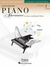 ACCELERATED PIANO ADVENTURES BOOK 1 - TECHNIQUE AND ARTISTRY BOOK 420250