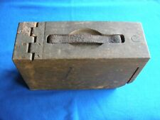 Wwi Wooden Ammo Box with Handle Good Condition