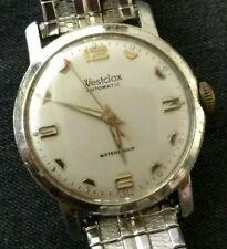 Vintage Westclox automatic watch, aluminum case