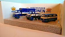 3 x Schuco Modellautos der Kronen Brauerei  1:87  OVP