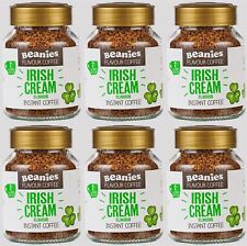 Beanies Coffee Irish Cream Flavour Instant Coffee - 50g (Pack of 6)