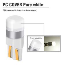 2Pcs T10 w5w Led Bulbs Car White Parking Width Interior Dome Light Reading Lamp