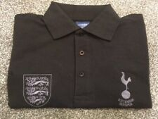 Spurs & England Polo Shirt (NEW) Size Medium. Embroidered Football club crests.