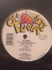 "45 King-The Lost Breakbeats: Just Beats 12"" Vinyl DJ Battle Tool Scratch Hip Hop"