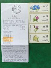 Ireland 2010 SOAR Wild Flowers Blackrock posn. 3 Inc. Receipt Missing Dot