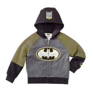 DC Comics® Character Kids' Full Zip Hoodie, Batman