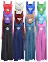 Women Buckle Date Maxi Long Ladies Bridesmaid Party Cocktail Evening Prom Dress