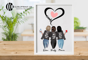Personalised Best Friend Print / Sister / Cousin / Colleague