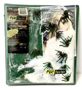 2003 FEAR FACTOR TV Show Spiders Mead 3 Ring School Binder Joe Rogan RARE