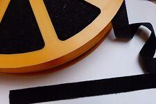 Flauschband zum Aufbügeln 20 mm schwarz döfix aufbügelbar