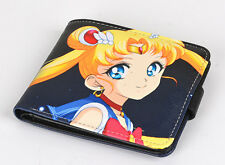 Anime Sailor Moon Tsukino Usagi Mizuno Ami Mars PU Wallet Purse Pocket Toy Gift