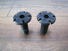 2 X Adatto a Lavastoviglie Beko DWD5410w RAIL CAP FRONT 1887460200