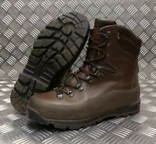 Genuine British Army Current Issue ITURRI Cold & Wet Weather Combat Boots Brown