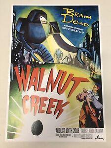 Phish POSTER Walnut Creek Raleigh NC 8/10/18 Print 2018 Pollock Magnet