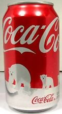 MT UNOPENED 12oz Can American Coke Coca-Cola IWF Save Polar Bear Issue 2011 USA