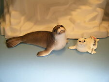 SCHLEICH SEAL #14702 & SEAL CUB #14703 *NEW* SEALED IN FACTORY PLASTIC