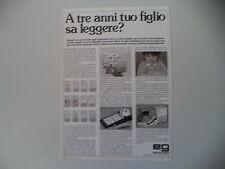 advertising Pubblicità 1985 EG EDITRICE GIOCHI