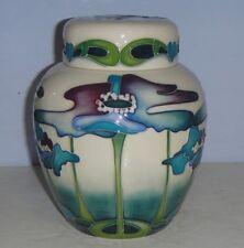 Excellent MOORCROFT Ginger Jar - BLUE HEAVEN Trial by Nicola Slaney