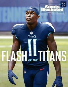 Julio Jones Tennessee Titans Sports Illustrated cover photo - select size