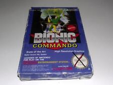 Bionic Commando Nintendo NES Boxed PAL *Complete*